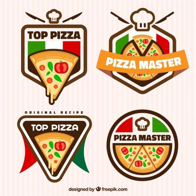 626x626 Pizza, Logos Vector Free Download