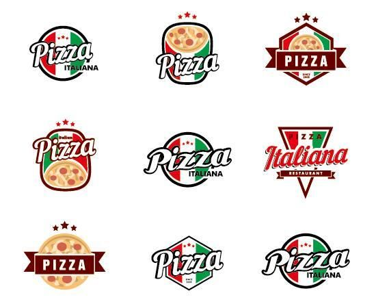 550x447 Free Eps File Italy Pizza Logos Vector Download Name Italy Pizza
