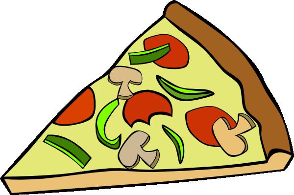 600x399 Pepperoni Pizza Slice Clip Art Free Vector 4vector