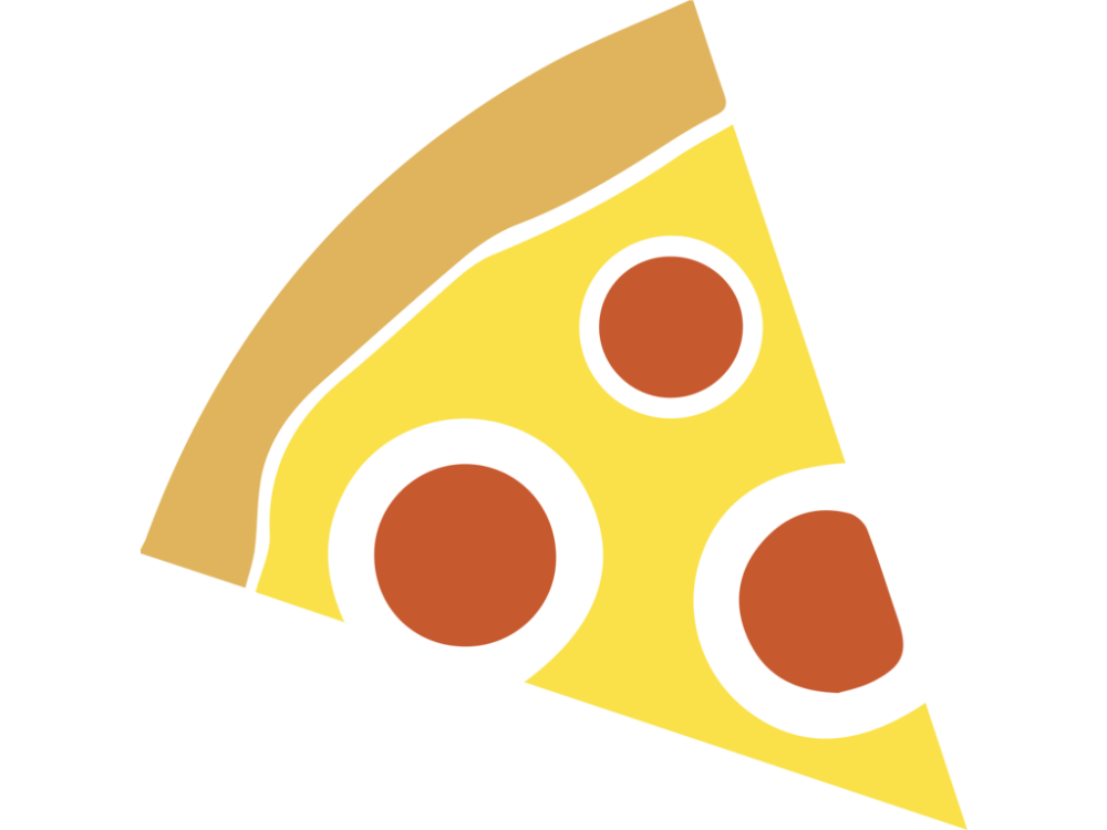 1000x750 Pizza Slice Vector Icon Free Vector Icons Icons