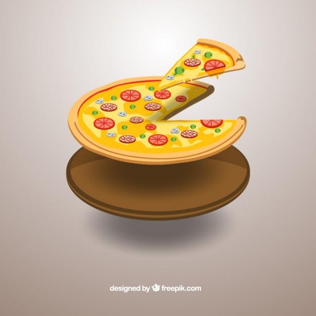 626x626 Pizza Slice Vector Premium Download