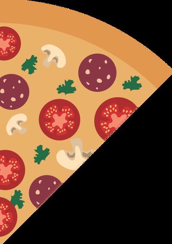 353x500 Pizza Slice Vector Image Public Domain Vectors