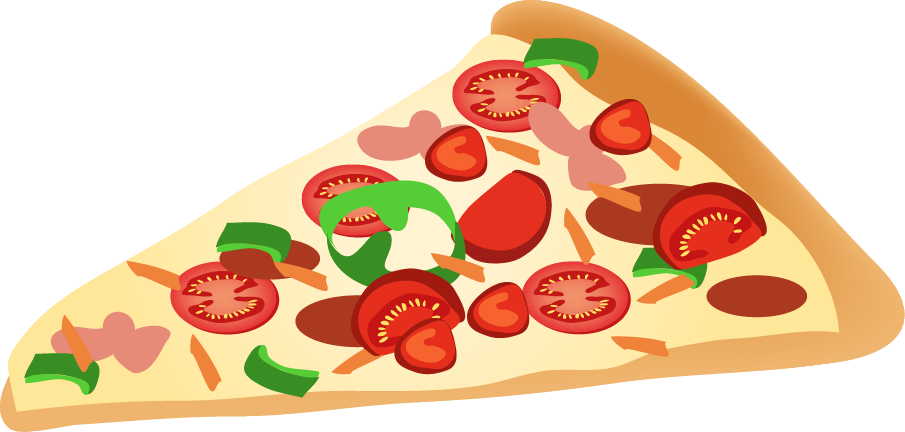 905x432 Pizza Vector