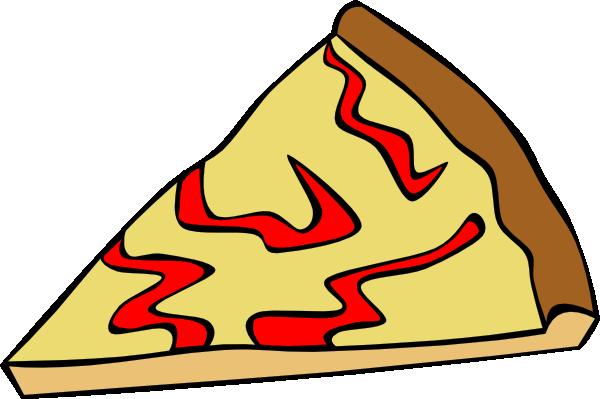 600x399 Cheese Pizza Slice Clip Art Free Vector 4vector