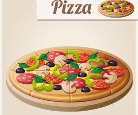 280x235 Pizza Vector