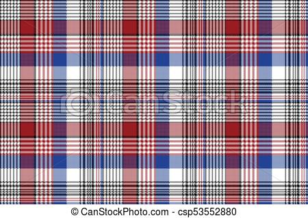 450x319 Pixel Plaid Fabric Seamless Check Pattern. Flat Design. Vector