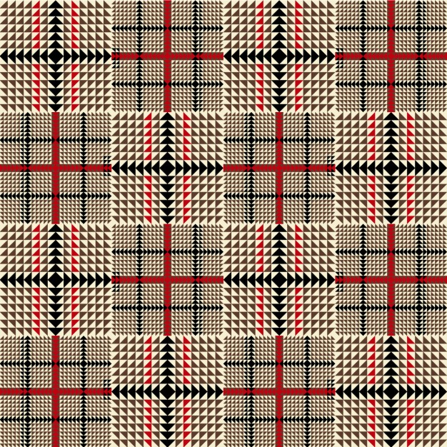 626x626 Brown Fashion Plaid Pattern Vector Free Download