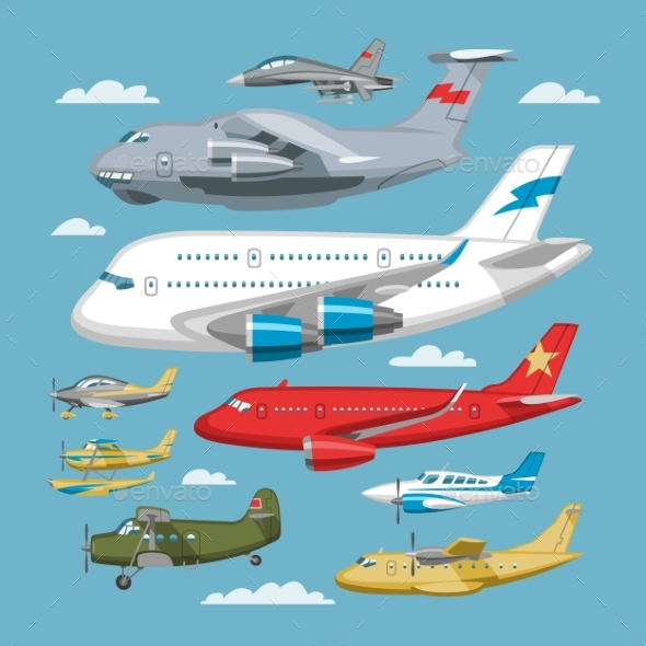 590x590 Plane Vector Aircraft Or Airplane And Jet Flight By Pantimetrok