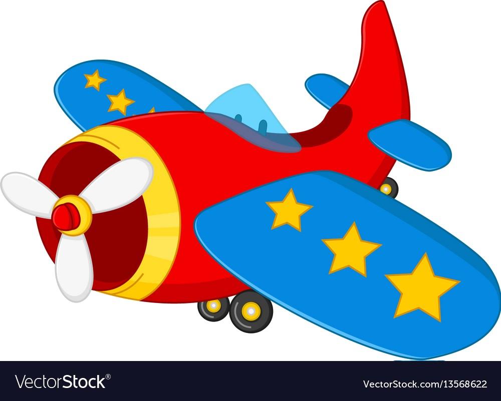 1000x802 Cartoon Air Plane Vector 13568622 13