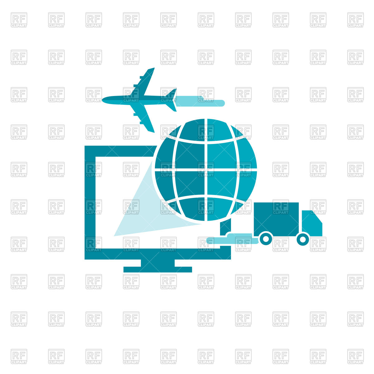 1200x1200 E Commerce, Tracking And Online Shipping Service