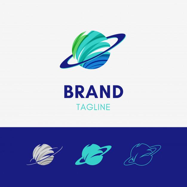 Planet Logo Vector