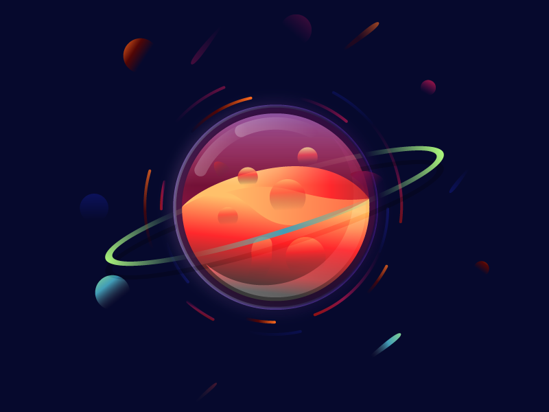 800x600 Magic Planet Planet Vector Free