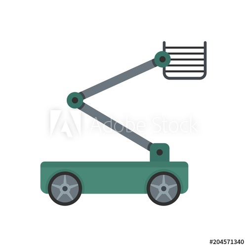 500x500 Steel Platform Icon. Flat Illustration Of Steel Platform Vector