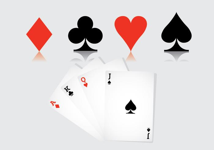 700x490 Playing Card Suits Free Vector Art