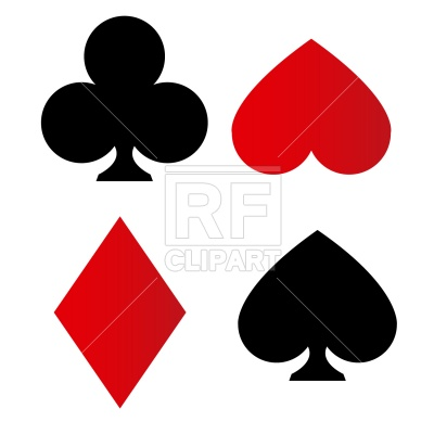 400x400 Playing Card Suit Symbols Vector Image Vector Artwork Of Sport