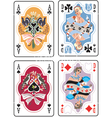 Playing Card Vector Art