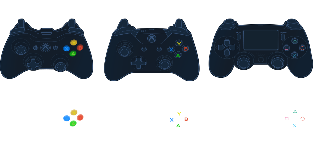 Playstation Controller Vector