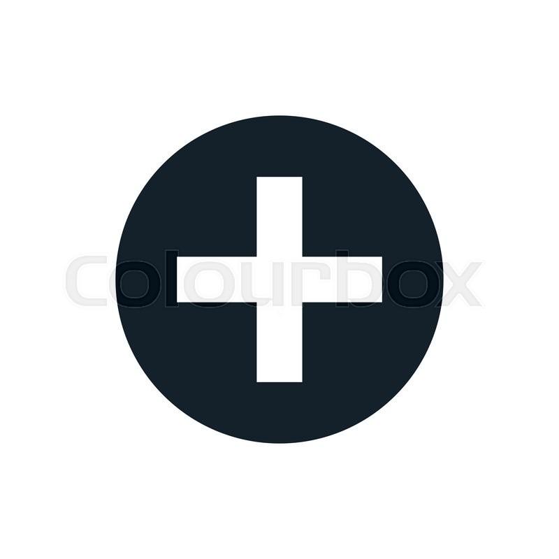 800x800 Black And White Vector Plus Sign, Plus Size Icon, Plus Logo, Plus
