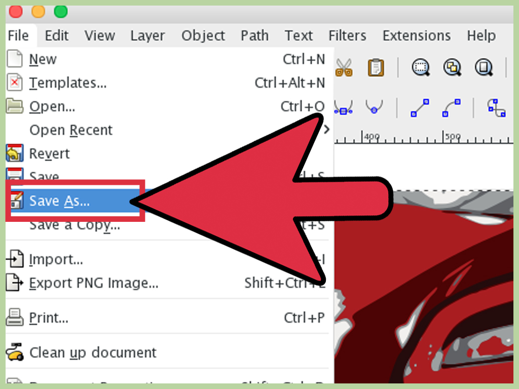 1024x768 How To Convert Jpg To Vector (With Pictures)