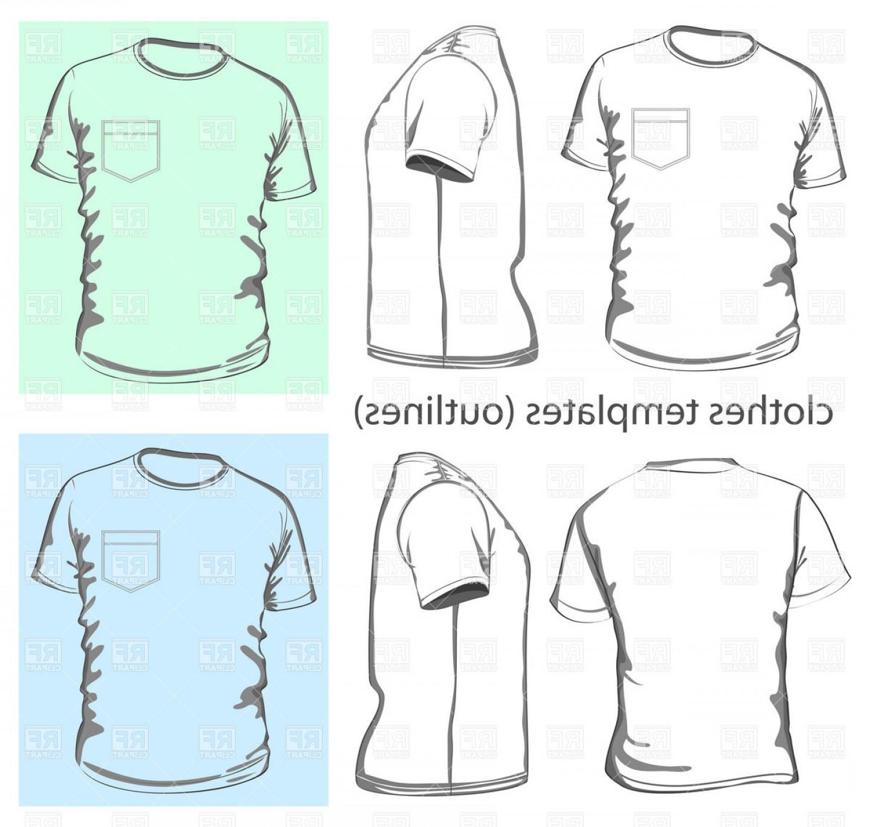 1440x1369 Mens T Shirt With Pocket Vector Clipart Shopatcloth