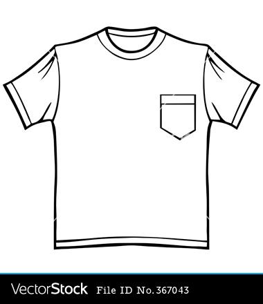 380x440 Pocket Clipart Tee Shirt Cute Borders, Vectors, Animated, Black
