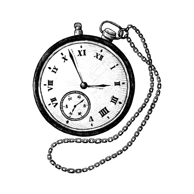 626x626 Pocket Watch Vectors, Photos And Psd Files Free Download