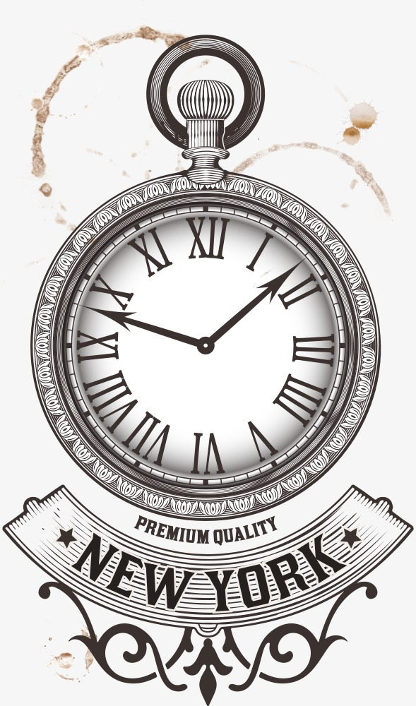 589x1000 Vector Pocket Watch, Pocket Watch, Cartoon Watch, Table Png And