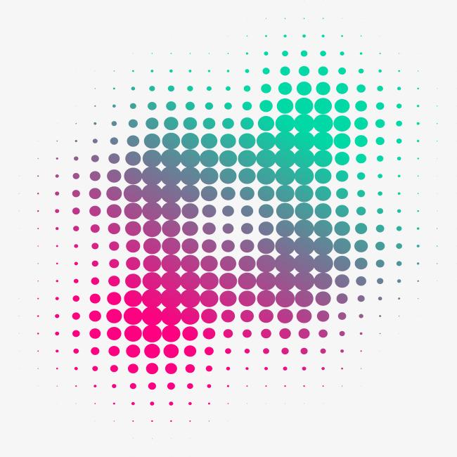 650x650 Gradient Color Point Background, Gradient Vector, Color Vector