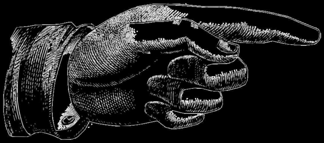 Pointer Finger Vector