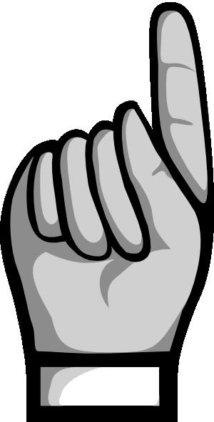 300x592 Pointer Finger Clipart Amp Pointer Finger Clip Art Images