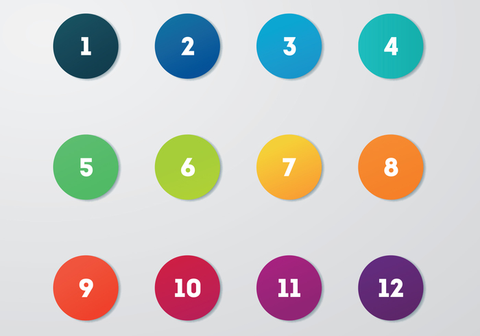 700x490 Free Circle Bullet Points Vector