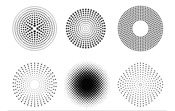 600x380 Free Vectors Vector Dots And Halftone Pattern Rubelcreative