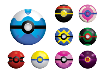 352x247 Pokemon Ball Vector Free Vector Download 380313 Cannypic