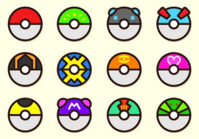 700x490 Set Of Poke Ball Pokemon