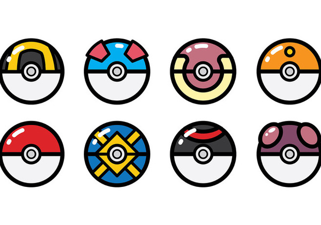 632x443 Free Pokemon Icons Vector Free Vector Download 380325 Cannypic