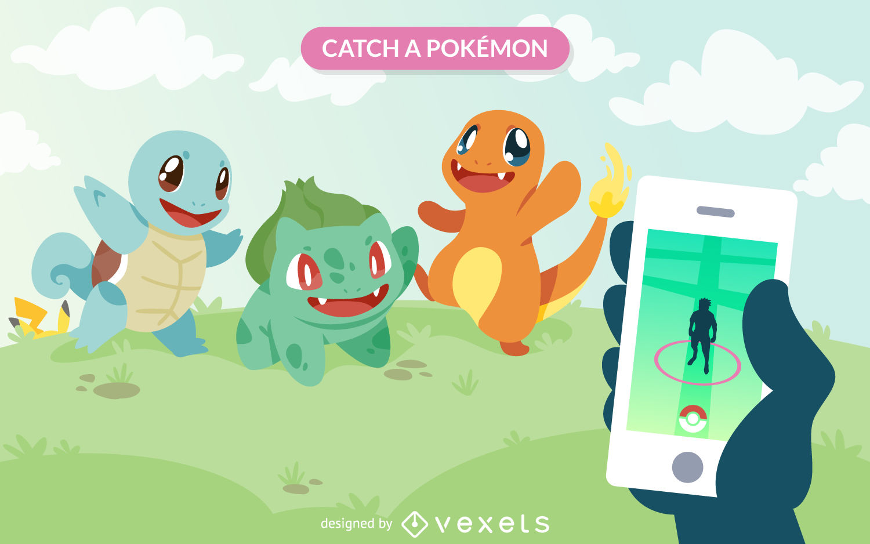 1500x938 Pokemon Go Vector Graphics To Download