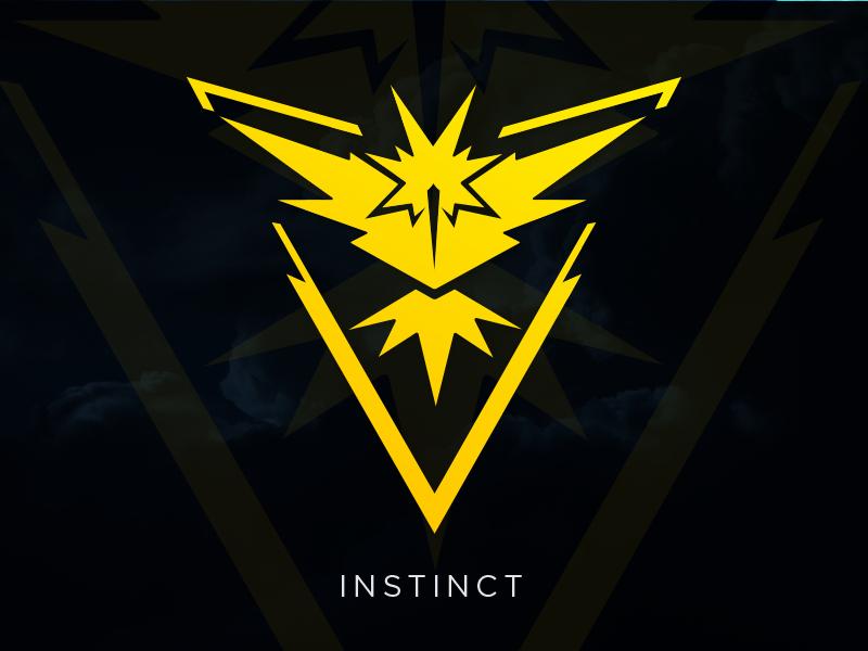 800x600 Instinct Pokemon Go Team Logo [Vector Download] By Meritt Thomas