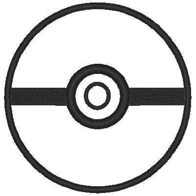 400x400 Pokemon Logo Coloring Pages 2586683