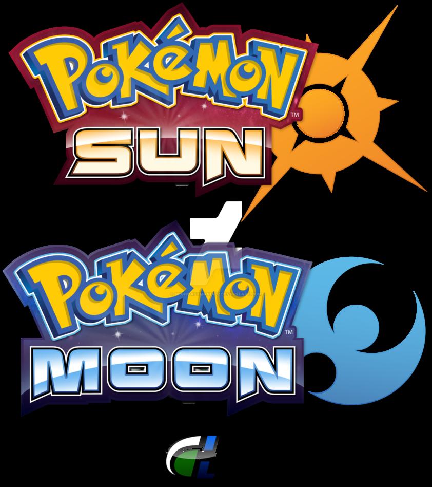 842x948 Pokemon Sun And Moon Logo Recreations By Shadowlifeman