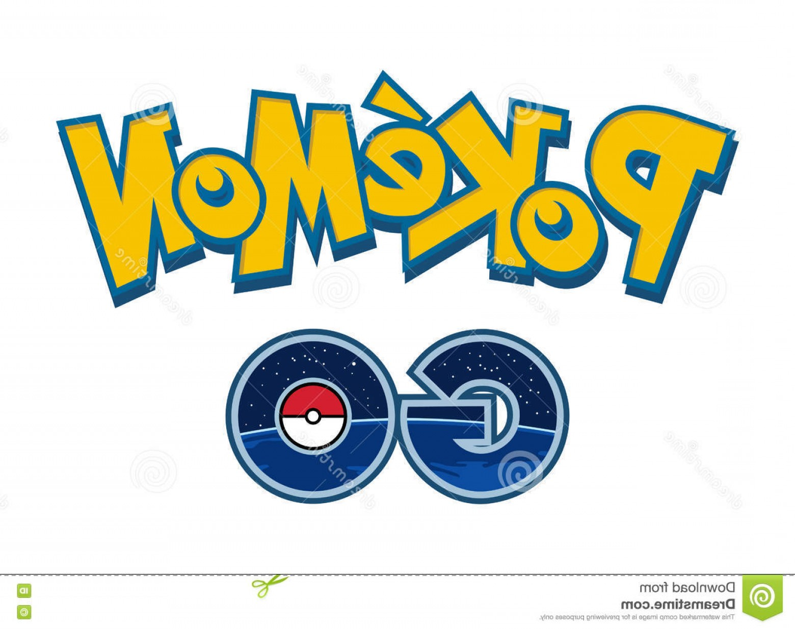 1560x1234 Editorial Image Pokemon Go Logo Vector Illustration Phone Game