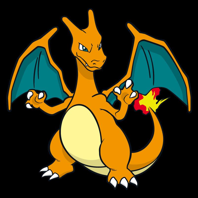 800x800 Charizard Pokemon Character Vector Art Free Vector Silhouette