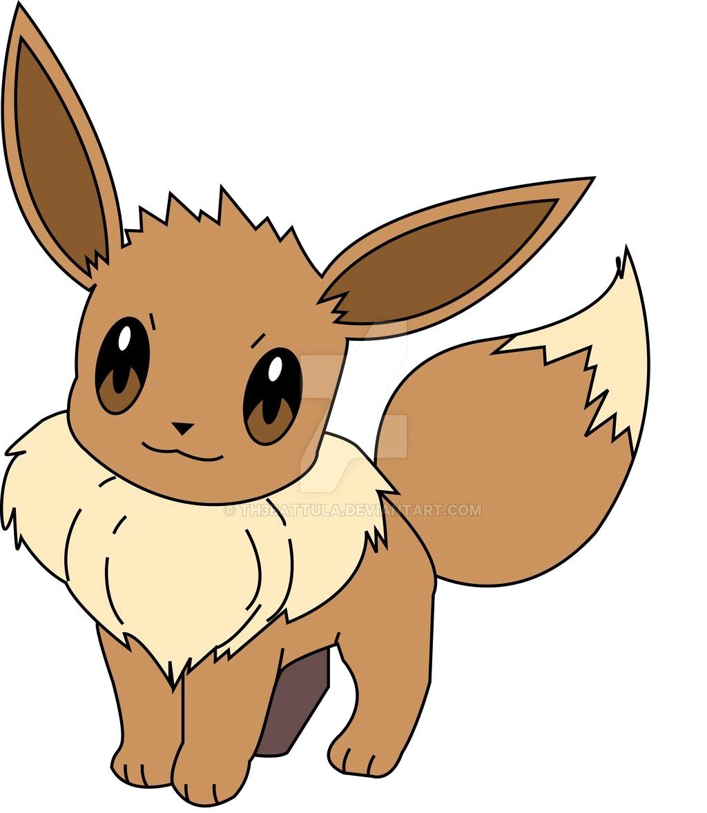 1024x1178 Practice Pokemon Vector 2 Eevee By Th3battula