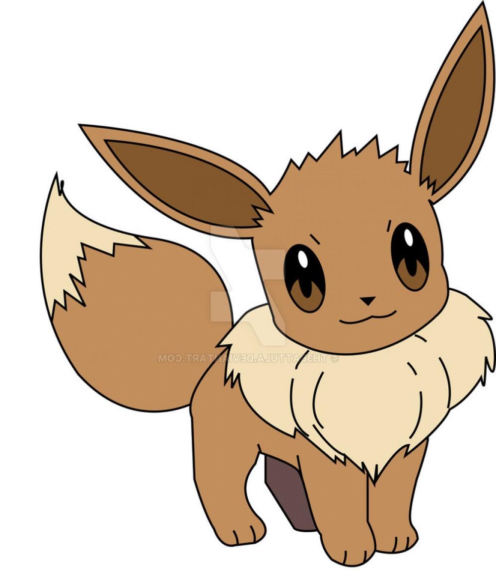 999x1149 Practice Pokemon Vector Eevee Shopatcloth