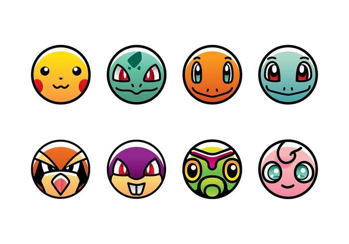 700x490 Pokemon Icon Vector Free