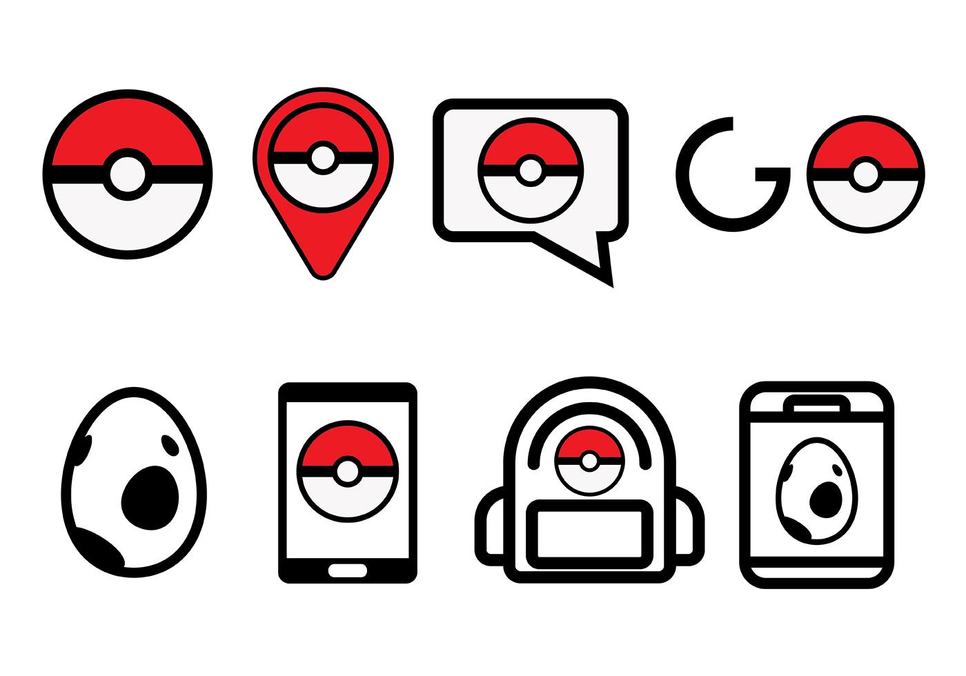 1400x980 Pokemon Vector