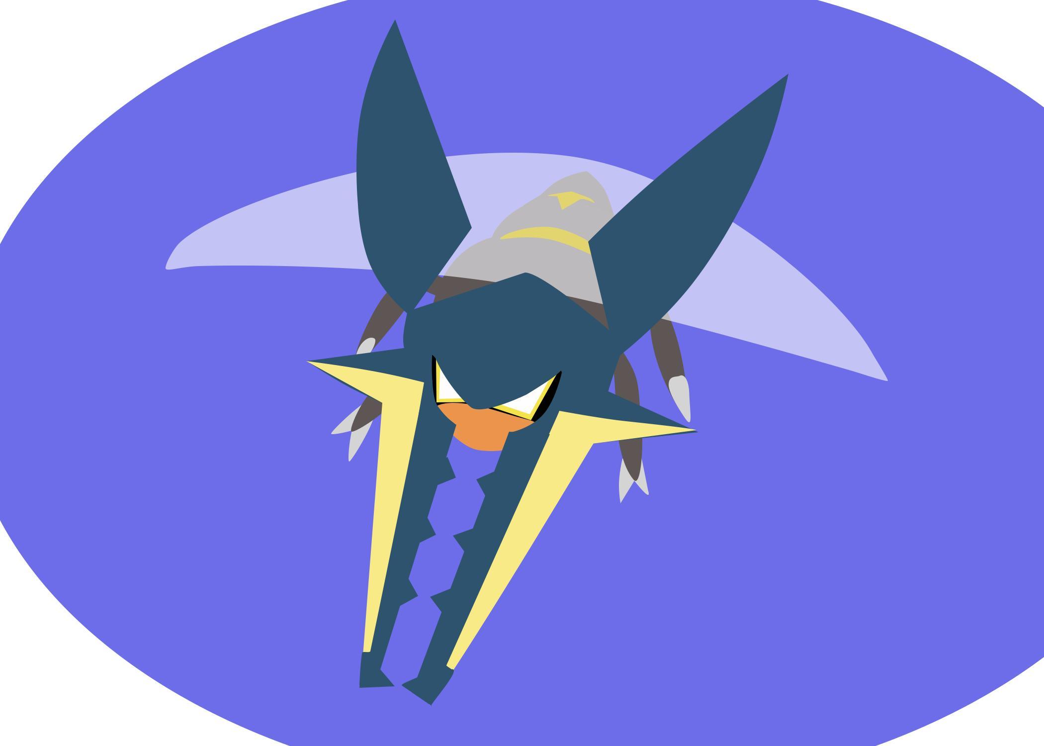 2100x1500 Vikavolt Vector Art Pokemon