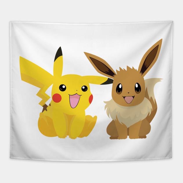 630x630 Pikachu And Eevee