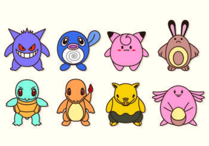 700x490 Pokemon Free Vector Art