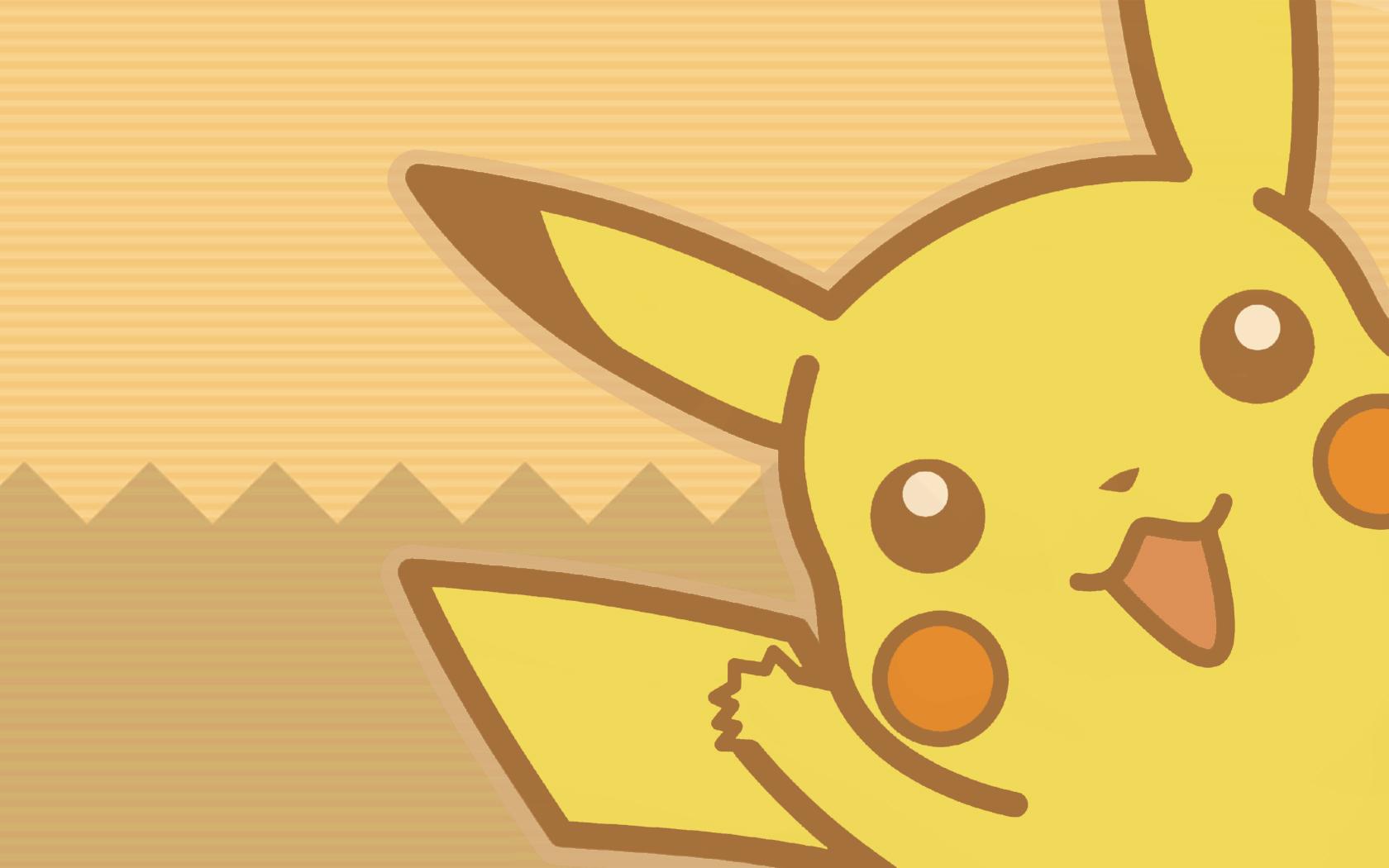 1680x1050 Pokemon Pikachu Wallpaper 1680x1050 Pokemon, Pikachu, Vector