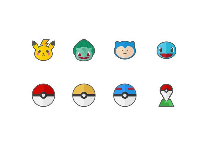 700x490 Free Pokemon Vector Icons